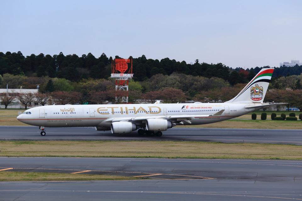 T.Sazenさんのエティハド航空 Airbus A340-500 (A6-EHC) 航空フォト