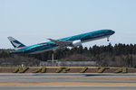 SKYLINEさんが、成田国際空港で撮影したキャセイパシフィック航空 777-337/ERの航空フォト(写真)