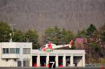 Dojalanaさんが、函館空港で撮影した朝日航洋 AS355F Ecureuil 2の航空フォト(写真)