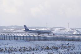 robbyさんが、稚内空港で撮影した全日空 A320-211の航空フォト(飛行機 写真・画像)