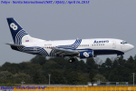 Chofu Spotter Ariaさんが、成田国際空港で撮影したオーロラ 737-5L9の航空フォト(写真)