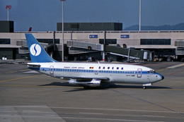 Gambardierさんが、チューリッヒ空港で撮影したサベナ・ベルギー航空 737-229/Advの航空フォト(飛行機 写真・画像)
