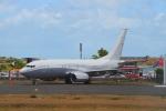 AkilaYさんが、プリンセス・ジュリアナ国際空港で撮影したファースト・ヴァーチャル・エア 737-7JY BBJの航空フォト(写真)