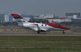 kumagorouさんが、仙台空港で撮影したホンダ・エアクラフト・カンパニー HA-420の航空フォト(飛行機 写真・画像)