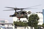 多楽さんが、宇都宮飛行場で撮影した陸上自衛隊 UH-60JAの航空フォト(写真)