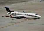 じーく。さんが、羽田空港で撮影したグローバル・ジェット・ルクセンブルク EMB-135BJ Legacyの航空フォト(写真)