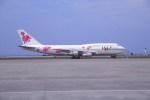 kumagorouさんが、那覇空港で撮影した日本航空 747-346の航空フォト(飛行機 写真・画像)