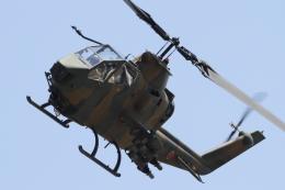 黄色の168さんが、真駒内駐屯地で撮影した陸上自衛隊 AH-1Sの航空フォト(飛行機 写真・画像)