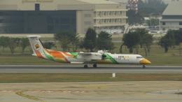 誘喜さんが、ドンムアン空港で撮影したノックエア DHC-8-402Q Dash 8の航空フォト(飛行機 写真・画像)