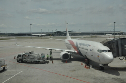 snow_shinさんが、クアラルンプール国際空港で撮影したマレーシア航空 737-8H6の航空フォト(写真)