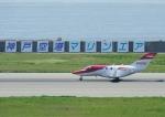 じーく。さんが、神戸空港で撮影したホンダ・エアクラフト・カンパニー HA-420の航空フォト(飛行機 写真・画像)