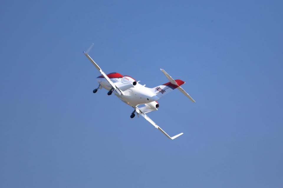 T.Sazenさんのホンダ・エアクラフト・カンパニー Honda HA-420 HondaJet (N420HE) 航空フォト