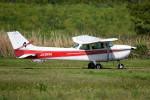 tsubasa0624さんが、ホンダエアポートで撮影した日本個人所有 172P Skyhawkの航空フォト(飛行機 写真・画像)
