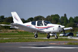 tsubasa0624さんが、ホンダエアポートで撮影した日本法人所有 TB-21 Trinidad TCの航空フォト(飛行機 写真・画像)