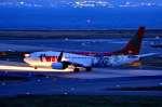 c59さんが、関西国際空港で撮影したティーウェイ航空 737-8HXの航空フォト(飛行機 写真・画像)