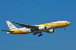 パンダさんが、成田国際空港で撮影したノックスクート 777-212/ERの航空フォト(飛行機 写真・画像)