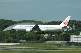 委員会の老人さんが、福岡空港で撮影した日本航空 777-246の航空フォト(飛行機 写真・画像)