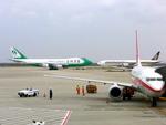delawakaさんが、上海浦東国際空港で撮影した翡翠国際貨運航空 747-4EVF/ER/SCDの航空フォト(飛行機 写真・画像)