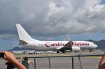 ひでかずさんが、プリンセス・ジュリアナ国際空港で撮影したカリビアン航空 737-85Pの航空フォト(写真)