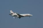 北の熊さんが、新千歳空港で撮影したJet Aviation Business Jets (HK) Ltd Falcon 7Xの航空フォト(写真)
