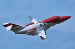 チャーリーマイクさんが、熊本空港で撮影したホンダ・エアクラフト・カンパニー HA-420の航空フォト(飛行機 写真・画像)