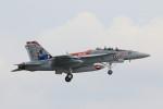 take_2014さんが、厚木飛行場で撮影したアメリカ海軍 F/A-18F Super Hornetの航空フォト(写真)