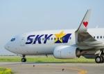じーく。さんが、神戸空港で撮影したスカイマーク 737-8HXの航空フォト(写真)