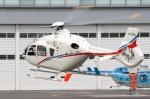 swamp foxさんが、東京ヘリポートで撮影した中日本バンリース EC135T2の航空フォト(写真)