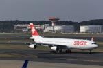 T.Sazenさんが、成田国際空港で撮影したスイスインターナショナルエアラインズ A340-313の航空フォト(写真)
