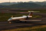 カヤノユウイチさんが、岡山空港で撮影したSilk Way Business Aviation G-V-SP Gulfstream G550の航空フォト(飛行機 写真・画像)