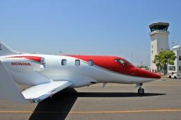 kumariairさんが、岡南飛行場で撮影したホンダ・エアクラフト・カンパニー HA-420の航空フォト(飛行機 写真・画像)