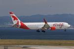 T.Sazenさんが、関西国際空港で撮影したエア・カナダ・ルージュ 767-36N/ERの航空フォト(写真)