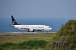 パンダさんが、八丈島空港で撮影した全日空 737-881の航空フォト(飛行機 写真・画像)