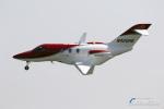ロール堂島さんが、岡南飛行場で撮影したホンダ・エアクラフト・カンパニー HA-420の航空フォト(写真)