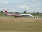 Quihuboさんが、ラス・アメリカス空港で撮影したPAWAドミニカーナ MD-82 (DC-9-82)の航空フォト(飛行機 写真・画像)