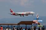 山河 彩さんが、関西国際空港で撮影したエア・カナダ・ルージュ 767-36N/ERの航空フォト(飛行機 写真・画像)