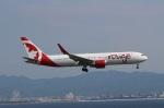 関西国際空港 - Kansai International Airport [KIX/RJBB]で撮影されたエア・カナダ・ルージュ - Air Canada rouge [AC/ACA]の航空機写真