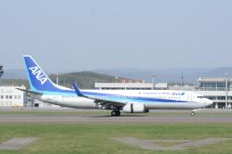 シャークレットさんが、旭川空港で撮影した全日空 737-881の航空フォト(飛行機 写真・画像)