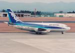 kumagorouさんが、鹿児島空港で撮影したエアーニッポン 737-281/Advの航空フォト(飛行機 写真・画像)