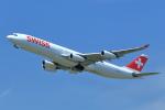 T.Sazenさんが、成田国際空港で撮影したスイスインターナショナルエアラインズ A340-313の航空フォト(飛行機 写真・画像)