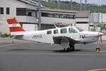 Gambardierさんが、岡山空港で撮影したJALフライトアカデミー A36 Bonanza 36の航空フォト(飛行機 写真・画像)