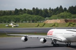 m-takagiさんが、成田国際空港で撮影したスイスインターナショナルエアラインズ A340-313Xの航空フォト(飛行機 写真・画像)