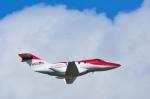 パンダさんが、成田国際空港で撮影したホンダ・エアクラフト・カンパニー HA-420の航空フォト(写真)