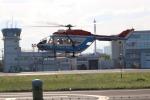 ほっくんさんが、東京ヘリポートで撮影した川崎市消防航空隊 BK117B-2の航空フォト(写真)