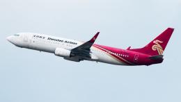 coolinsjpさんが、深圳宝安国際空港で撮影した深圳航空 737-87Lの航空フォト(飛行機 写真・画像)