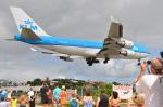 ひでかずさんが、プリンセス・ジュリアナ国際空港で撮影したKLMオランダ航空 747-406の航空フォト(写真)