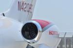 md11jbirdさんが、神戸空港で撮影したホンダ・エアクラフト・カンパニー HA-420の航空フォト(写真)