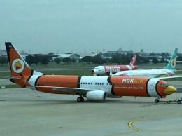 ぺペロンチさんが、ドンムアン空港で撮影したノックエア 737-83Nの航空フォト(飛行機 写真・画像)