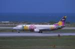 kumagorouさんが、那覇空港で撮影したスカイネットアジア航空 737-46Qの航空フォト(写真)