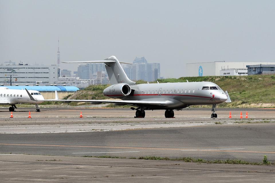 tsubasa0624さんのビスタジェット Bombardier BD-700 Global Express/5000/6000 (9H-VJF) 航空フォト